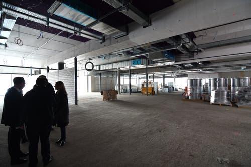 Erdgeschoss mit der Fläche des SportXX.