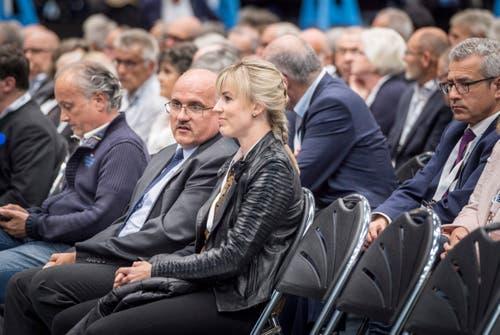 Auch die Thurgauer SVP-Nationalrätin Diana Gutjahr war anwesend.