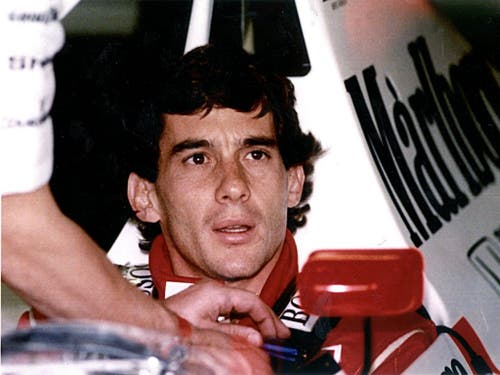 Ayrton Senna: Der Todestag jährt sich am 1. Mai zum 25. Mal (Bild: KEYSTONE/EPA/STR)