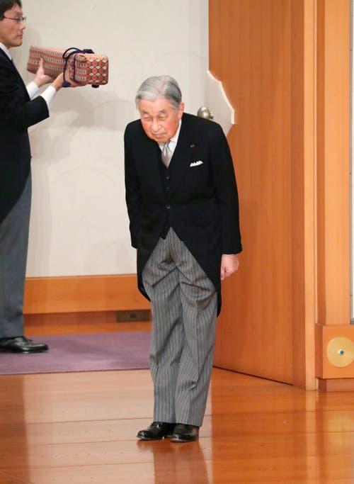 (Bild: Japan Pool via AP)