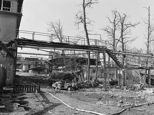 Wahrscheinliche Ursache der Explosion war eine Fehlmanipulation bei der Produktion von Sprengstoff. (Archivfoto) (Bild: KEYSTONE/STR)