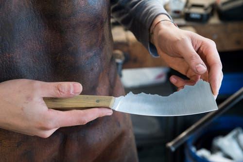 Die Messer kosten über 1000 Franken. (Bild: Eveline Beerkircher, Escholzmatt, 4. April 2019)