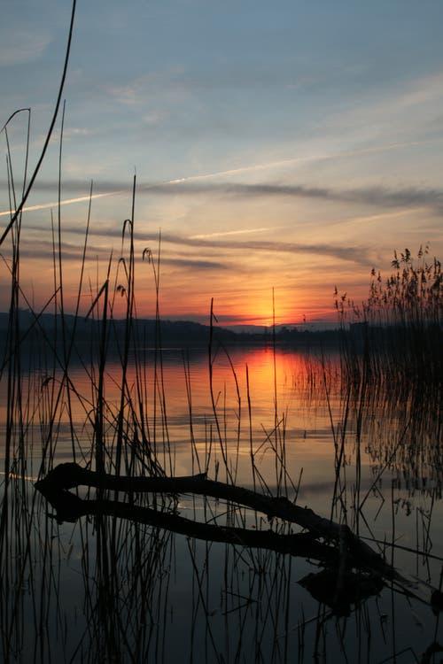 Die Sonne hat sich verabschiedet. (Bild: Irene Wanner, Eich, 6. April 2019)