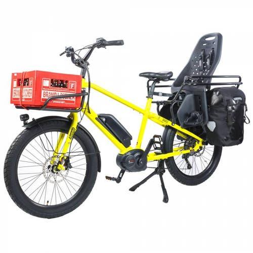 Benno Bikes bringt mit dem Boost E einen neuen Typ E-Bike: Lastesel und Kindertransporter, aber kompakt wie ein normales Velo.