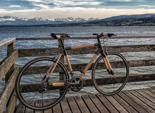 Attraktiv auch ohne Motor: Die neue Schweizer Marke Drehmoment Bikes kombiniert gepresste Bambusrohre mit Carbonmuffen.