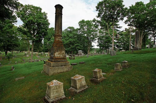 Auf dem «Mount Hope Cemetery» ersann King den «Friedhof der Kuscheltiere».