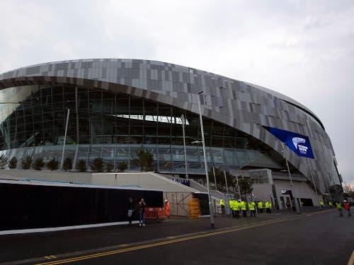 Der Stein des Anstosses aus Sicht von Manchester City: das Tottenham Hotspur Stadium (Bild: KEYSTONE/EPA/WILL OLIVER)