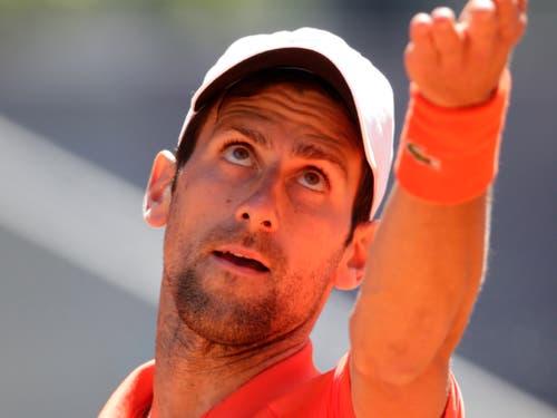 ... die Weltnummer 1 Novak Djokovic (Bild: KEYSTONE/AP/ANDREA COMAS)