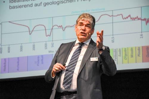 SRF-Meteorologe Felix Blumer. (Bild: Urs M. Hemm)