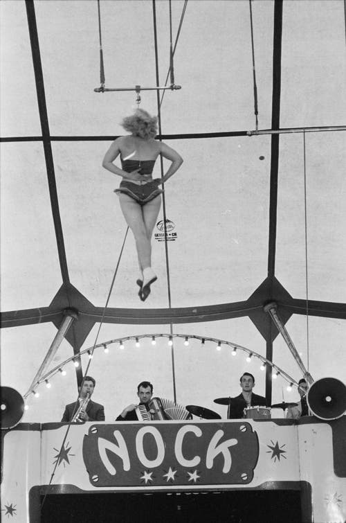 Der Zirkus in Solothurn im Jahr 1961. (Bild: ETH-Bibliothek Zürich/ Bruderer)