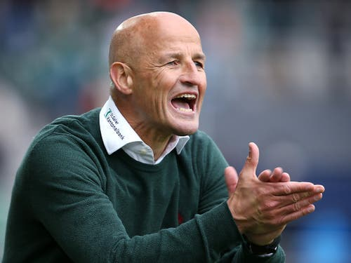 Wird sich St. Gallens Trainer Peter Zeidler bald nicht mehr ärgern müssen? (Bild: KEYSTONE/EDDY RISCH)