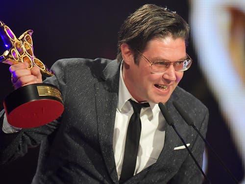 Michael Steiner gewinnt mit seinem Film «Wolkenbruch» einen Prix Walo. (Bild: KEYSTONE/WALTER BIERI)