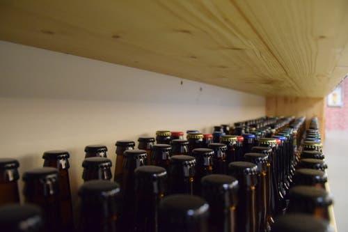 Einzigartig sind nicht nur die Flaschendeckel....