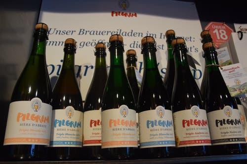 Die Brauerei Fischingen verkauft sein hochprozentiges Bier unter der regional bekannten Marke Pilgrim.