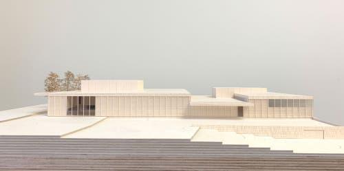 Modell (Quelle: Architekturbüro Andy Senn)