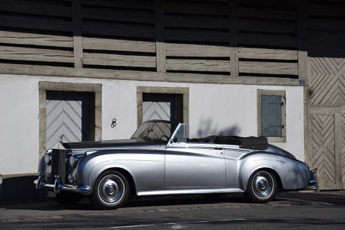 Rolls-Royce Silver Cloud II Convertible 1961