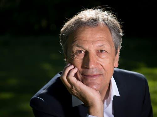 69-jährig, aber fit wie ein Turnschuh: der neue SFV-Präsident Dominique Blanc (Bild: KEYSTONE/LAURENT GILLIERON)