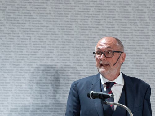 Der abtretende Zentralpräsident Peter Gilliéron war zehn Jahre im Amt (Bild: KEYSTONE/PETER SCHNEIDER)