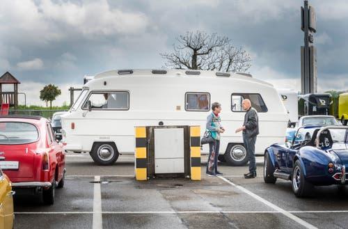 """Rickenbach bei Wil TG - """"Fantastic Plastic"""" - Ausstellung mit Plastik-Karosserie-Autos."""