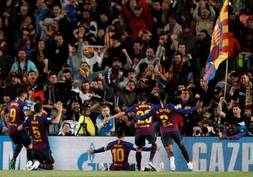Mann des Spiels: Lionel Messi. (Bild: Joan Monfort / AP)