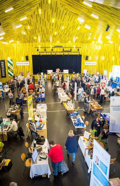 Amriswil TG - Thurgauer Tischmesse im Pentorama Amriswil - Eröffnung.