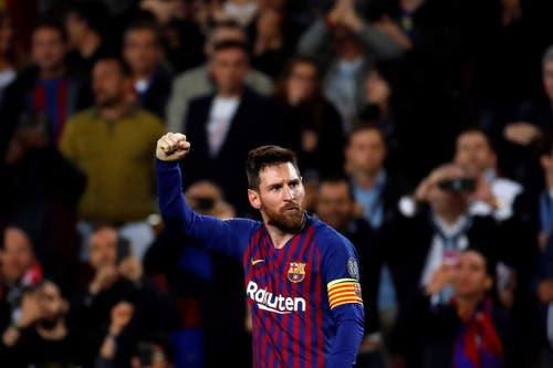 Der Mann, der alle in den Schatten stellt: Lionel Messi. (Bild: Alberto Estevez / EPA)