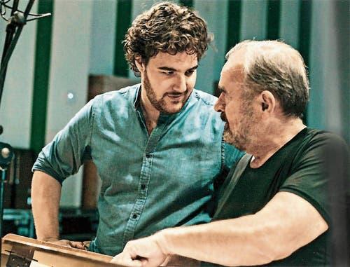 Der Pianist mit dem Luzerner Tenor Mauro Peter. (Bild: Christian Felber)