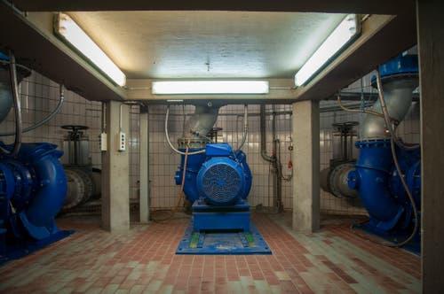 ....zu einer Pumpstation. Von da werden die Thurgauer Abwasser... (Bilder: Raphael Rohner)