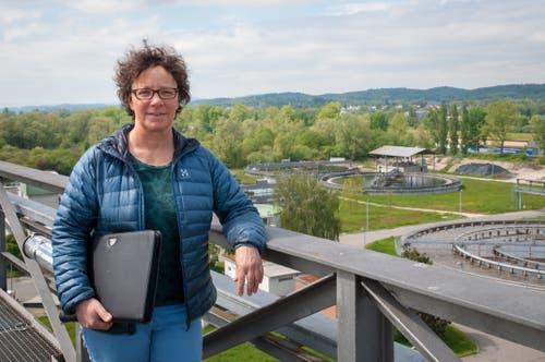 «Abwasserreinigung ist grenzenlos», sagt Betriebsleiterin Ulrike Hertig. (Bilder: Raphael Rohner)