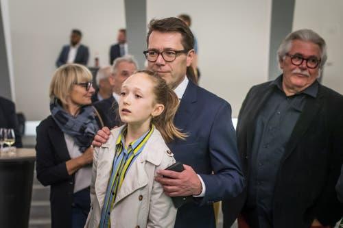 Beni Würth mit Tochter Francesca. Bild: Michel Canonica