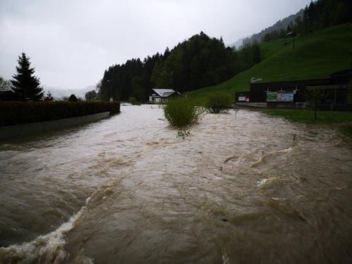 Land unter in Unterwasser. (Bild: ZVG)