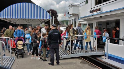 Viele Institutionen öffneten ihre Türen am Sonntag für Familien der Zentralschweiz. (Bild: Stiftung Fokus Familie)