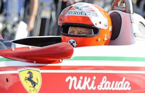 Der Österreicher wurde dreifacher Formel-1-Weltmeister. (1975, 1977, 1984). (Bild: Hans Klaus Techt/Keystone)