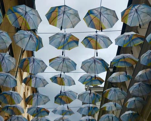 Regenwetter! (Bild: Peter Bumbacher, 21. Mai 2019)
