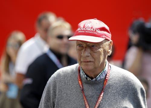 Niki Lauda wurde 70 Jahre alt. (Bild: Luca Bruno/Keystone)