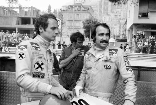 Bei Ferrari war er Teamkollege von Clay Regazzoni. (Bild: Keystone)