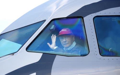Lauda war später Pilot und Airline-Besitzer. (Bild: Barbara Gindl/Keystone)