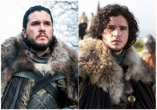 Kit Harington als Jon Snow. (HBO via AP)