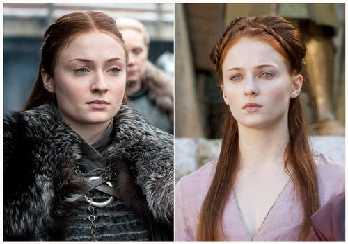 Sophie Turner spielte Sansa Stark. (HBO via AP)