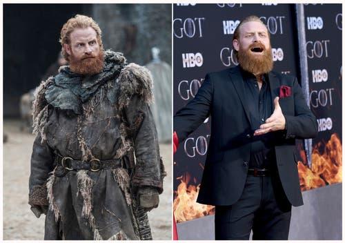 Kristopfer Hivju als Tormund Giantsbane. (HBO/Evan Agostini/Invision/AP)