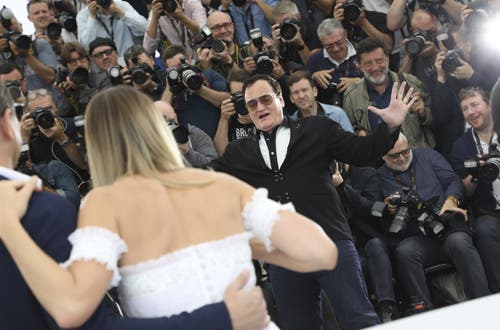 Regisseur Quentin Tarantino. > Fototermin «Once Upon A Time ... In Hollywood» (Vianney Le Caer/Invision/AP)