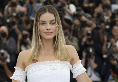 Die australische Schauspielerin Margot Robbie während dem 72. Filmfestival in Cannes. > Fototermin «Once Upon A Time ... In Hollywood» (Vianney Le Caer/Invision/AP)