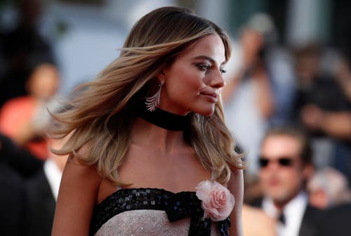 Die australische Schauspielerin Margot Robbie während dem 72. Filmfestival in Cannes. > Filmpremiere «Once Upon A Time ... In Hollywood» (Bild: EPA/IAN LANGSDON)