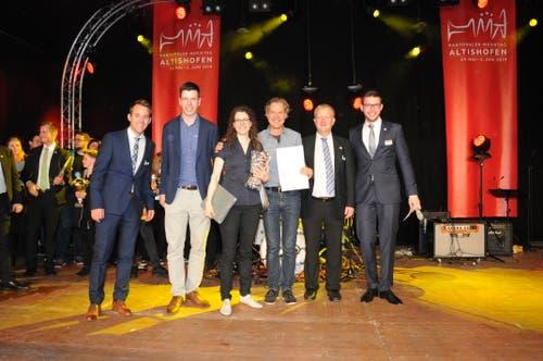 Das Jugendblasorchester Oberer Sempachersee gewinnt den Förderpreis. (Bild: PD)