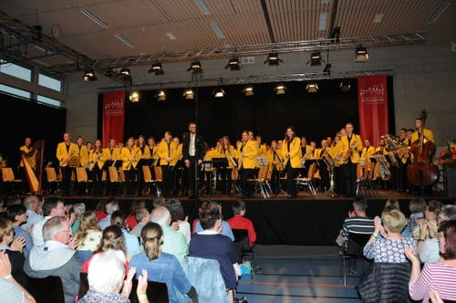 Das Jugendblasorchester Luzern ist Festsieger bei der Harmonie. (Bild: PD)