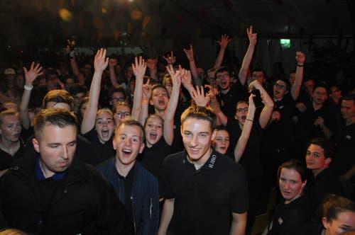 Rangverkündigung am Jugendmusikfest. (Bild: PD)
