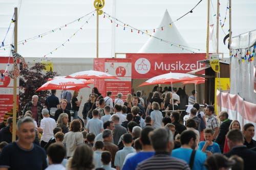 Impressionen vom Jugendmusikfest. (Bild: PD)