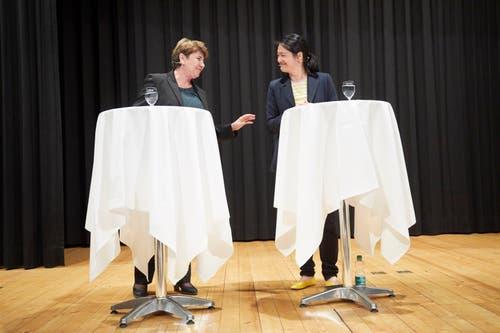 Bundesrätin Viola Amherd. (Bild: Jakob Ineichen, Sempach, 28. Mai 2019)