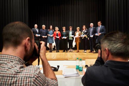 Delegiertenversammlung der CVP Luzern in Sempach. (Bild: Jakob Ineichen, Sempach, 28. Mai 2019)