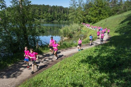 Der 6-Kilometer-Lauf. (Bild: Michel Canonica)